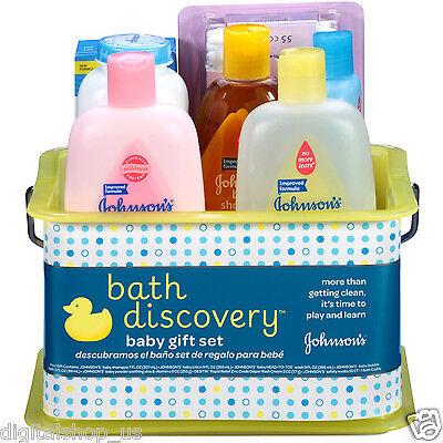 Johnson's Bathtime Gift Set, 8 Items
