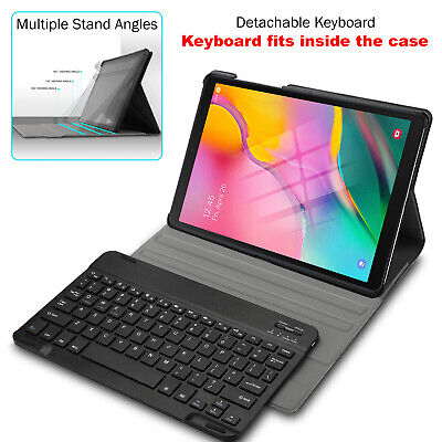 August® Bluetooth Keyboard Case Leather For Samsung Tab S5e 10.5in Wi-Fi