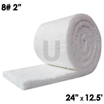 Unitherm Ceramic Fiber Insulation Blanket 8 Density 2300f2x24x12.5
