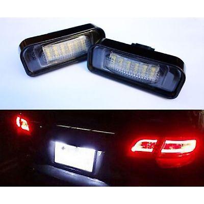 Beleuchtung Kennzeichen LED Mercedes Klasse S W220 10/1998 A 08/2005 Weiß