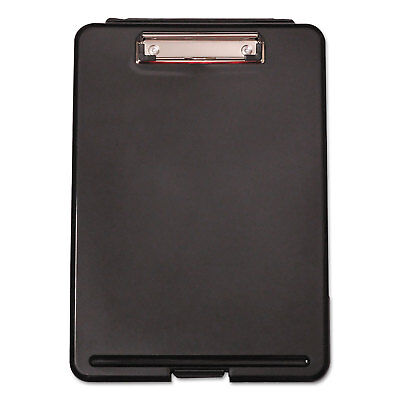 Universal Storage Clipboard 12 Capacity 8 12 X 11 1 Compartment Black 40318