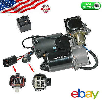 Air Suspension Compressor Pump For Range Rover LR3 2005-2009 #LR023964