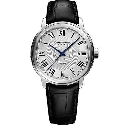 Raymond Weil Mens - Raymond Weil  2237-STC-00659 Men's Maestro Silver Automatic Watch