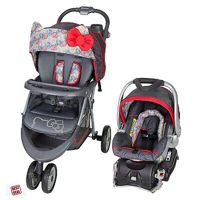 Kamusta Kitty Baby Car Seats And Strollers Baby Baby Travel System Baby Trend