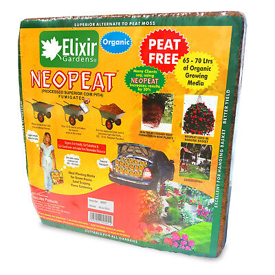 10 x70lt Coir Compost Organic Blocks Makes up to 700lts