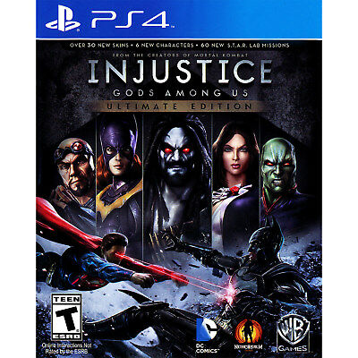 Injustice  Gods Among Us   Ultimate Edition Ps4  Brand New
