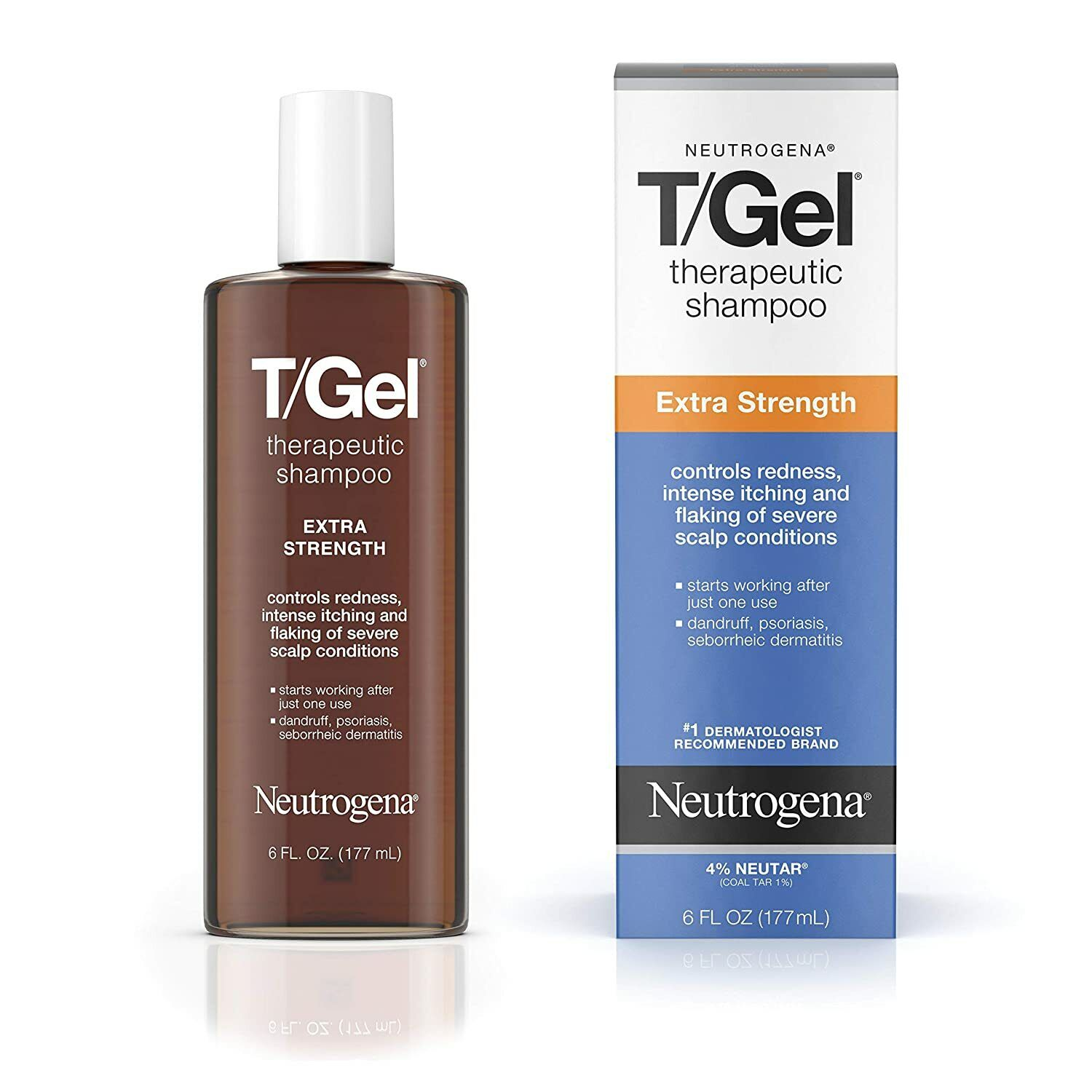 Neutrogena Therapeutic Extra Strength Gel Shampoo, 6 Fluid O