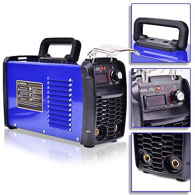 140a 110v Mma-250 Portable Inverter Digital Welder Stick Weld Great Machine