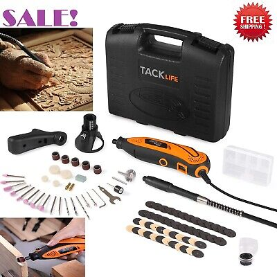 Best Rotary Tool Kit Variable Speed with Flex shaft 80 Accessories Carrying