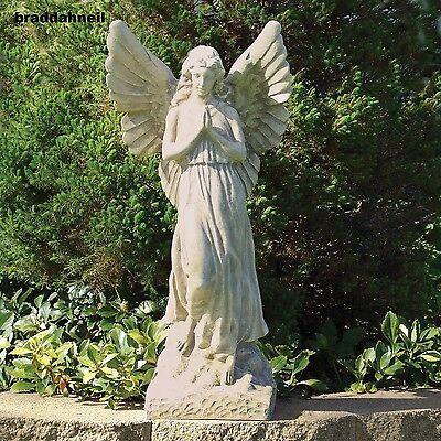 Guardian Angel Statue Memorial Outdoor Sculpture Garden ...