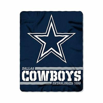 Dallas Cowboys  Star NFL Fleece Throw Blanket 50