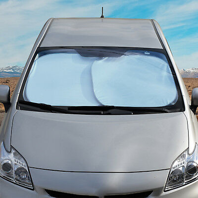 2x Motor Trend Large Pop-Up Auto Sun Shade Heat Reflector for Car SUV Truck (Capri Sun Large)