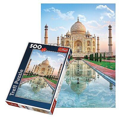 Trefl 500 Piece Adult Large Floor Taj Mahal India World Wonders Jigsaw Puzzle