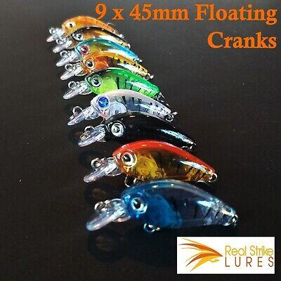 3pcs Myrans 7g Metal Spinning Lures 3 Toni 3 Akka or 3 Mixed Spinner Lure