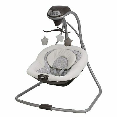 Graco 1927133 Simple Sway Baby Swing Speed Vibration Abbington