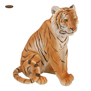Naturecraft Realistic Animal Gift Ornament Tiger Sitting Statue Figurine