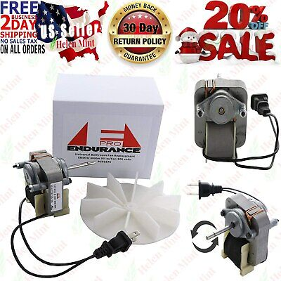 Endurance Pro Universal Bathroom Vent Fan Motor Complete Kit Replacement For C01