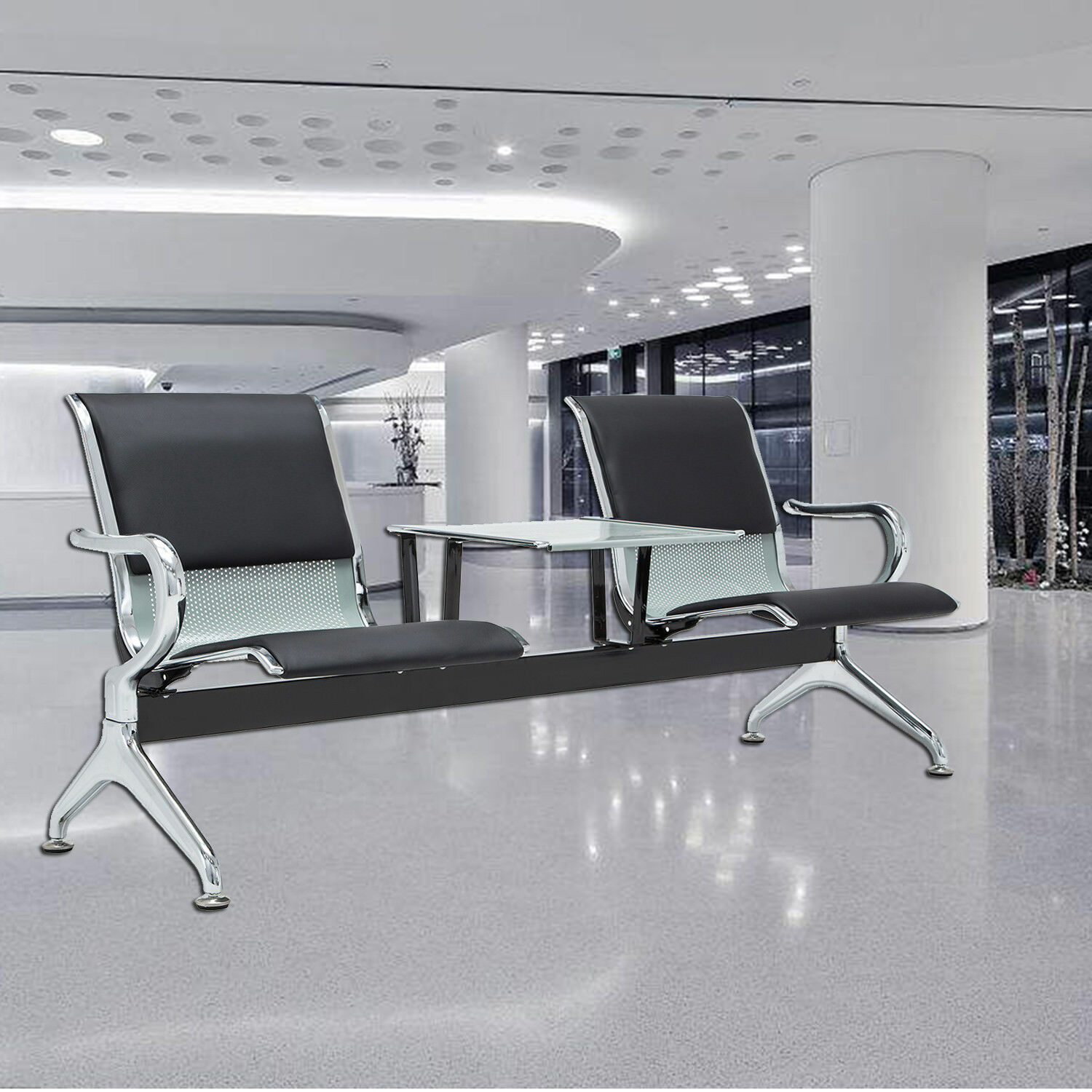 Heavy Duty Office Area Airport Reception Waiting Room Chair