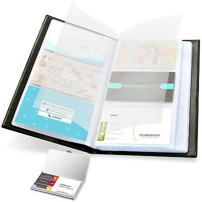 Business Card Holder Book Case Combo - Professional Stylish Sturdy Durable