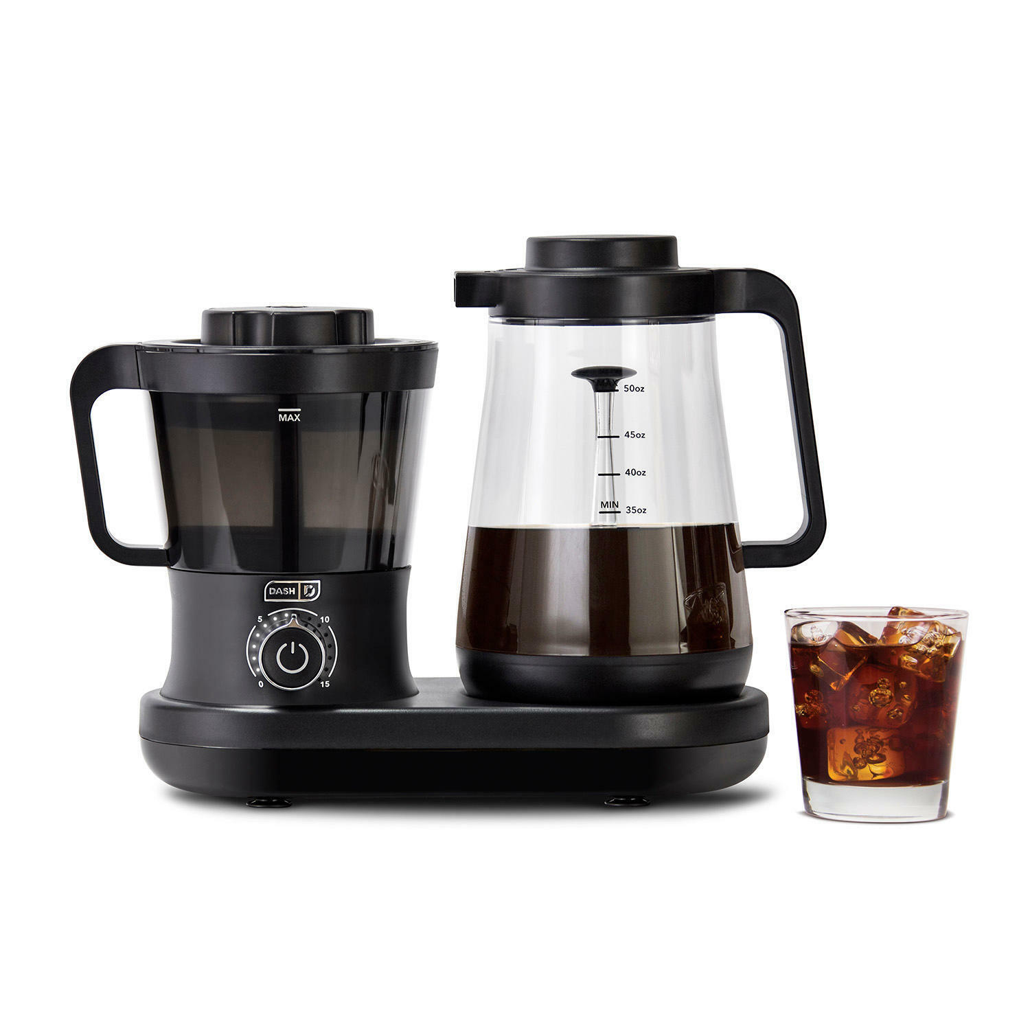 Dash Rapid Cold Brew Coffee Maker with Easy Pour Spout, 42 o