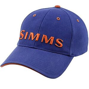 Simms contender fly fishing cool dry o s fitted cap hat for Fitted fishing hats