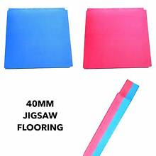 40mm EVA Flooring for MMA / Boxing - Jigsaw Flooring Red / Blue Osborne Park Stirling Area Preview