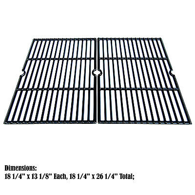 Replacement Porcelain Cast Iron grates for Charbroil, Colema