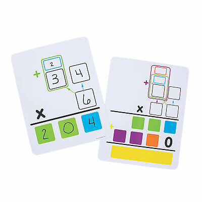 Multiplication Dry Erase Boards - Educational - 10 Pieces