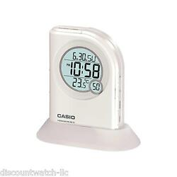 Casio PQ75-7 Multi-Function Digital Thermometer Table Top Alarm Clock LED Light