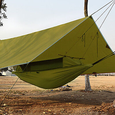 Lightweight Tent Waterproof Tarp Canopy for Shelter Survival Backpacking Camping