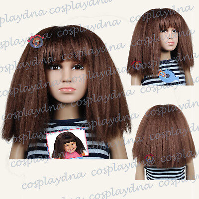 Dora the Explorer Cosplay Wigs Kids Children Girl Halloween Wigs Toddler to Teen (Teenage Dora The Explorer)