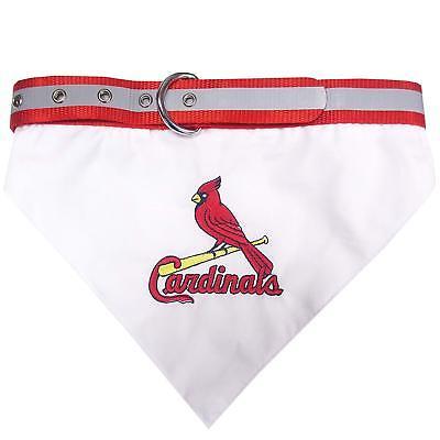 ST LOUIS CARDINALS MLB Pets First Dog Collar Bandana (pick Size)](Bandanas St Louis)