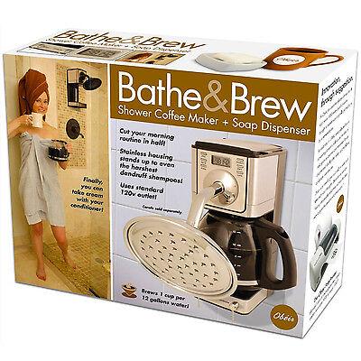 Novelty Bathe And Brew Fun Birthday Party Christmas Gag Prank Gift Box