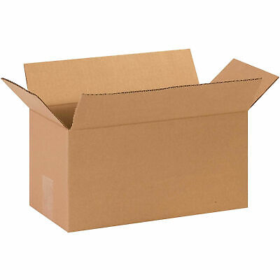 14 X 7 X 7 Long Cardboard Corrugated Boxes 65 Lbs Capacity 200ect-32 Lot