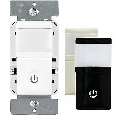 Hmos-j Pir Motion Sensor Light Switch Automatic Occupancy Infrared Detection