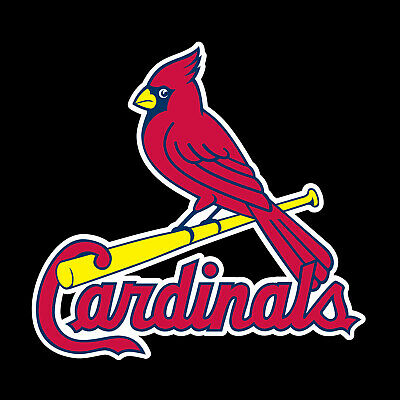 St. Louis Cardinals 2 PACK Die Cut Decal Sticker - You Choose Size FREE SHIPPING Louis Cardinals Die Cut Decal