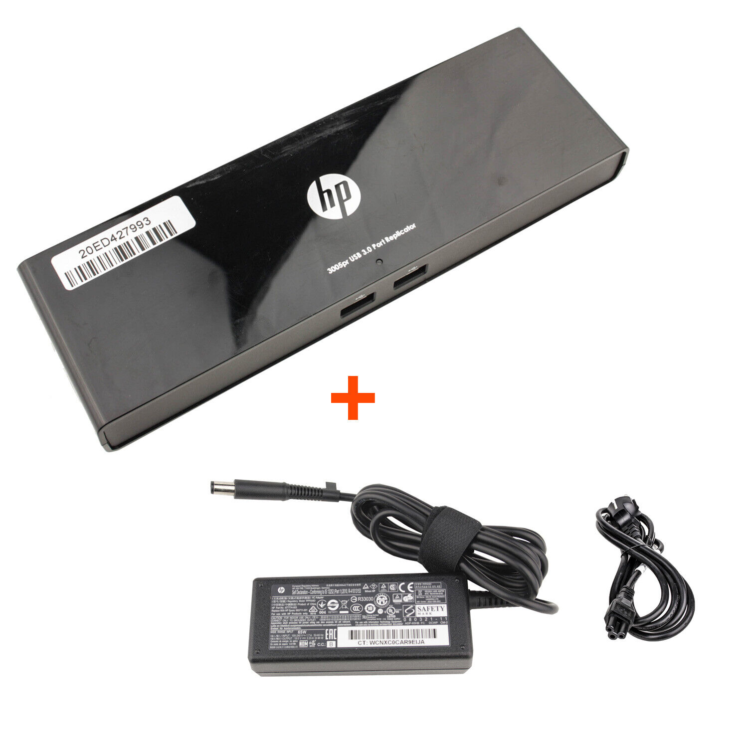 HP Universal Docking Station 3005Pr HSTNN-IX06 USB 3.0 Port Replicator