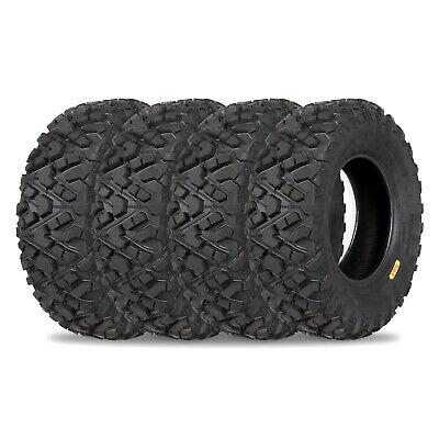 Weize All Terrain ATV UTV Tires 25x10-12 25x8-12 Front & Rear Full Set of 4
