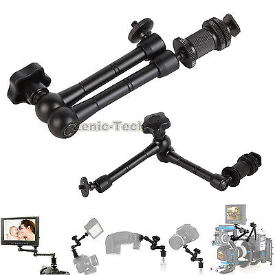 Articulating 11'' Friction Adjustable Magic Arm For DSLR LCD
