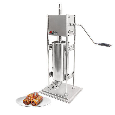 Aldkitchen Churro Machine For Commercial Use Stainless Steel Manual 5l