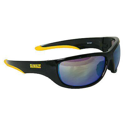 DeWalt DPG94-YD Dominator Safety Glasses, Yellow Mirror Lens