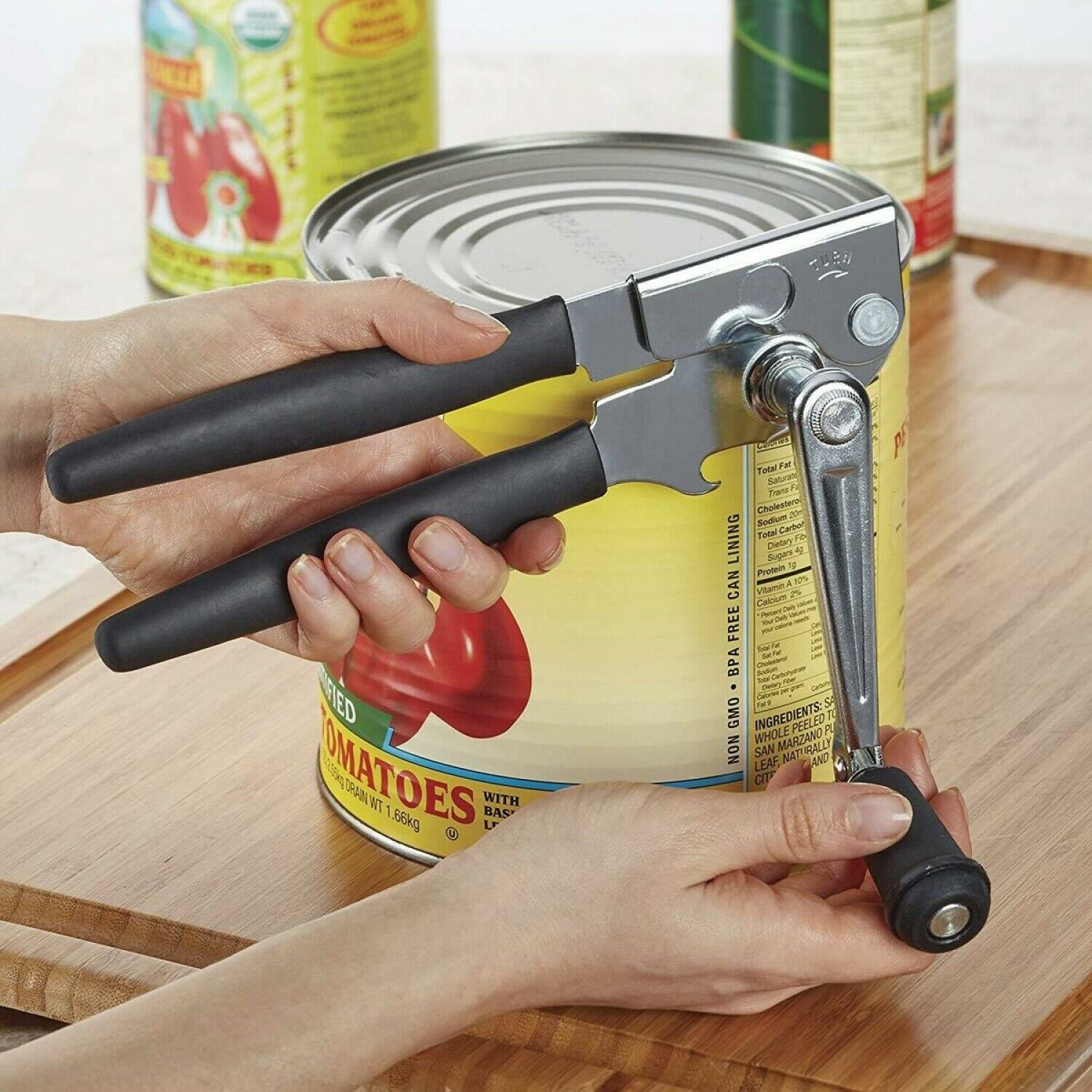 Swing-A-Way Large Crank Can Opener Easy Crank