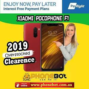 Brand New Xiaomi Pocophone F1 Rosso Red , 6gb RAM @ Phonebot Preston Darebin Area Preview