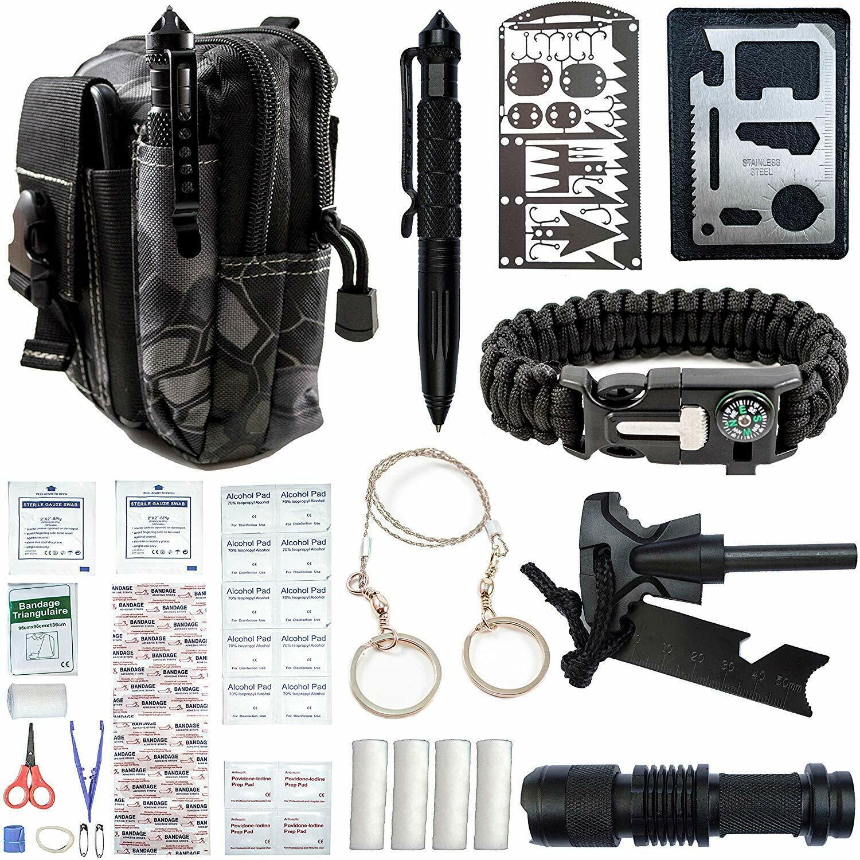 65 in 1 outdoor camping survival gear