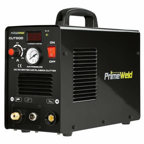 PLASMA CUTTER 50 AMP PRIMEWELD Premium & Rugged Air Inverter Dual Voltage
