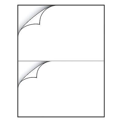 20 Sticker Paper 2 Per Sheet White MATTE Shipping Label Inkjet Laser (20 Sheet Printer Paper)