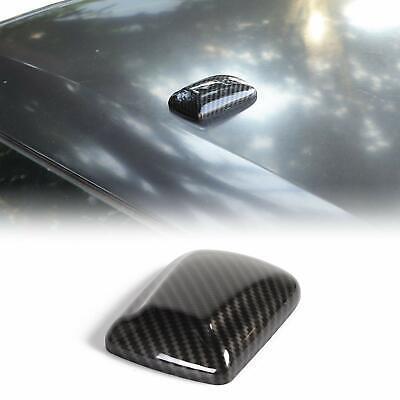 Car Antenna Base Cover Trim Decoration for Dodge Challenger 2009-19 Carbon Fiber