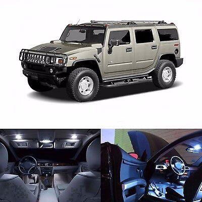 LED White Lights Interior Package Kit For Hummer H2 2003-2006 - 24 LEDs