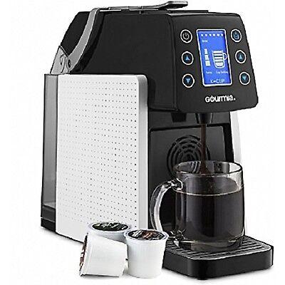 Gourmia GCM5100W One Rub up against Multi Capsule Coffee Machine, Nespresso, K-Cup, White