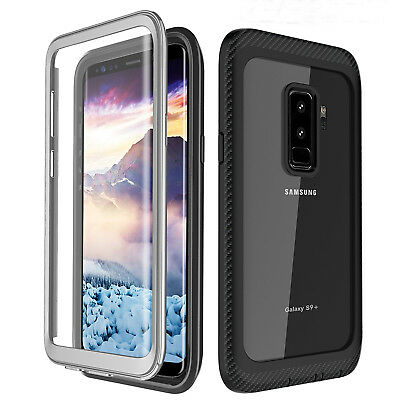360° Protection Full-body Rugged Clear Bumper Case For Samsung Galaxy S9 Plus